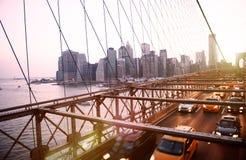 Brooklyn Bridge Landmark Architecture Metropolitan Concept Royalty Free Stock Photos