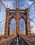 Brooklyn Bridge, Landmark, Historic Stock Images