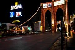 Brooklyn Bridge in Las Vegas Stock Image