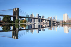 Brooklyn Bridge Manhattan Royalty Free Stock Photo
