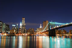 Brooklyn Bridge, Manhattan, New York City Royalty Free Stock Photography