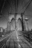 Brooklyn Bridge and Manhattan New York City US Royalty Free Stock Photos