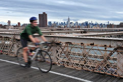 Brooklyn Bridge in Manhattan New York Royalty Free Stock Image