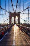 The Brooklyn Bridge royalty free stock photos