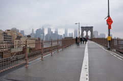 Brooklyn bridge Manhattan,New York,  nowy jork Royalty Free Stock Image