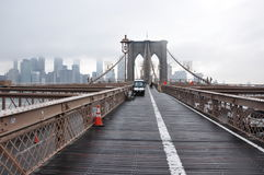 Brooklyn bridge Manhattan, nowy jork Royalty Free Stock Images