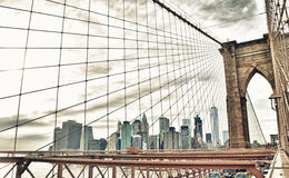Brooklyn Bridge. Stock Image
