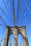 Brooklyn Bridge and Manhattan Skyline Royalty Free Stock Photos