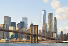 Brooklyn Bridge. Royalty Free Stock Images