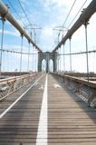 Brooklyn Bridge in New York Stock Image