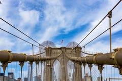 Brooklyn Bridge, New York Royalty Free Stock Images