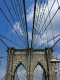 Brooklyn Bridge in New York Stock Photo