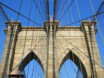 Brooklyn bridge, New York royalty free stock images