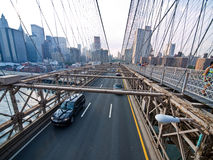 Brooklyn Bridge in New York. Royalty Free Stock Photos
