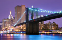 Brooklyn Bridge in New York Stock Photos