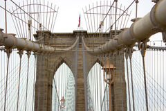 Brooklyn Bridge, New York Royalty Free Stock Photo