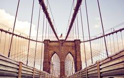 Brooklyn Bridge in New York Royalty Free Stock Image