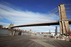 Brooklyn Bridge in New York Royalty Free Stock Photos