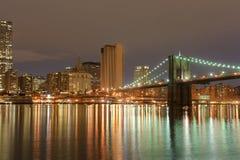 Brooklyn bridge in New York Royalty Free Stock Photos