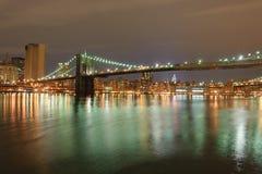 Brooklyn bridge in New York Stock Photography