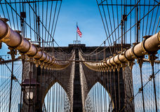 Brooklyn Bridge, New York Royalty Free Stock Image