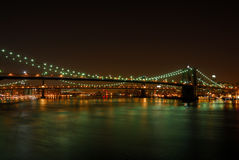 Brooklyn Bridge, New York Stock Photos