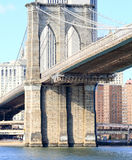 The Brooklyn bridge in New York Royalty Free Stock Photo