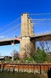 The Brooklyn bridge in New York Stock Image