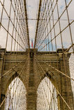 Brooklyn Bridge New York Royalty Free Stock Photography