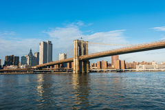 Brooklyn bridge in New York Royalty Free Stock Photography