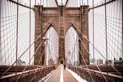 Brooklyn Bridge, New York royalty free stock photos