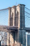 Brooklyn bridge and new york cit y manhattan skyline Royalty Free Stock Photography