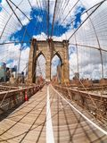The Brooklyn Bridge in New York Royalty Free Stock Image