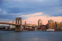 Brooklyn Bridge, New York City Royalty Free Stock Photography