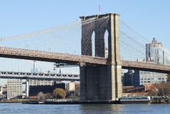 Brooklyn Bridge in New York City Royalty Free Stock Image