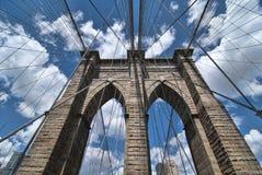 Brooklyn Bridge in New York City Royalty Free Stock Photography