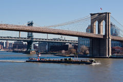 Brooklyn Bridge New York City Stock Photo