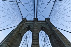 Brooklyn Bridge, New York City Royalty Free Stock Photos
