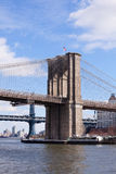Brooklyn Bridge in New York City Stock Image