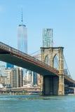 Brooklyn bridge. Of New York city Stock Image