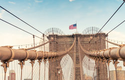 The Brooklyn Bridge, New York City Royalty Free Stock Photos