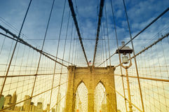 Brooklyn Bridge. Royalty Free Stock Photos