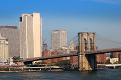 Brooklyn Bridge New York City royalty free stock photos
