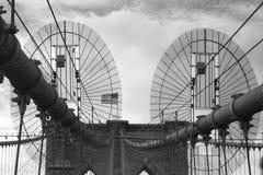 Brooklyn Bridge. In New York City Royalty Free Stock Images