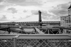 Brooklyn Bridge. In New York City Royalty Free Stock Photos
