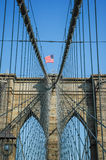 The Brooklyn Bridge in New York City, America. Die Brooklyn Bridge in New York City, America Royalty Free Stock Image