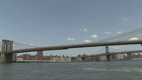 The Brooklyn Bridge stock footage