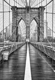 Brooklyn bridge of New York City. USA stock photos