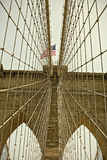 Brooklyn Bridge, New York City famous Landmark Stock Images