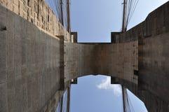 Brooklyn Bridge in New York City stock photography
